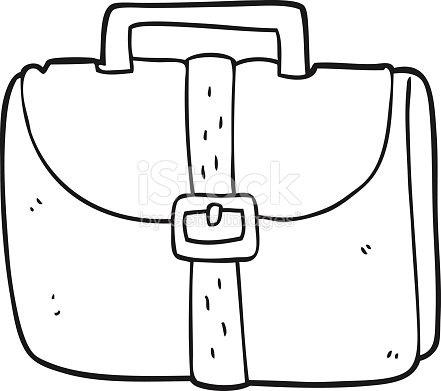Bag clipart black and white. Station