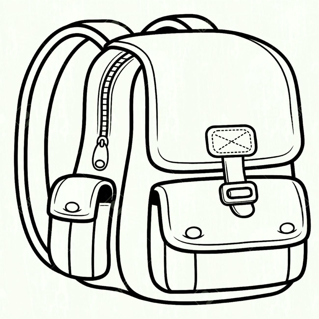 Bag clipart black and white. Bags station