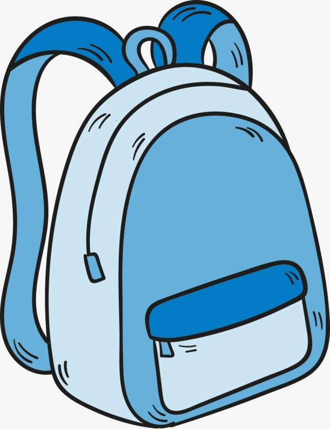 Portal . Bag clipart blue bag