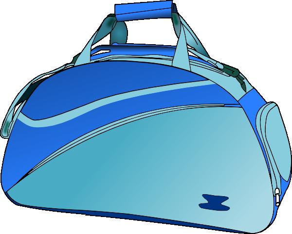 Bag clipart blue bag. Travel clip art at