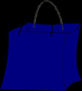Trick or treat clip. Bag clipart blue bag