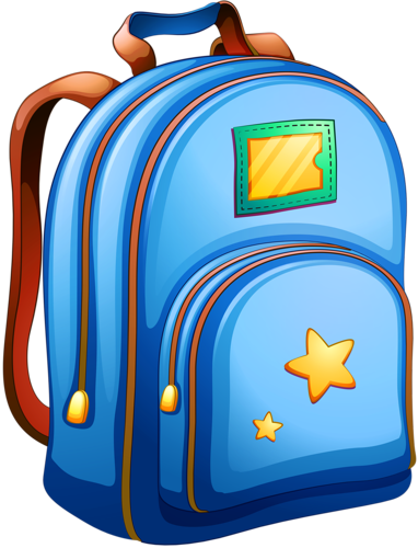 Bag clipart blue bag. Shutterstock png school