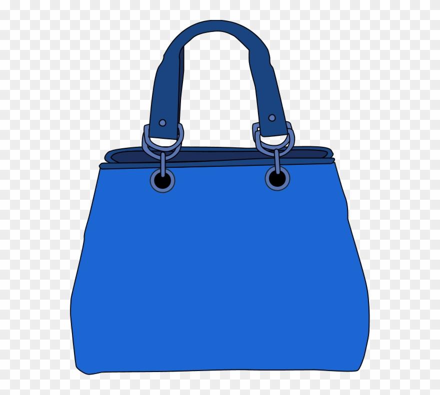 Tote clip art png. Bag clipart blue bag