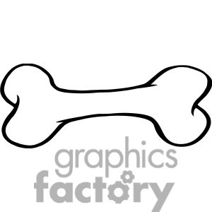 best clip art. Bag clipart bone