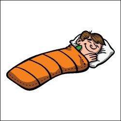 Sleeping cilpart strikingly idea. Bag clipart boy clipart