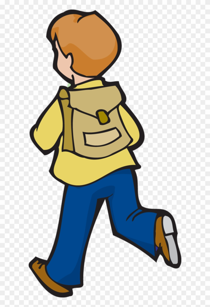 Bag clipart boy clipart. With school png download
