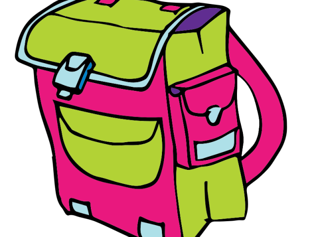 Old school free on. Bag clipart camp