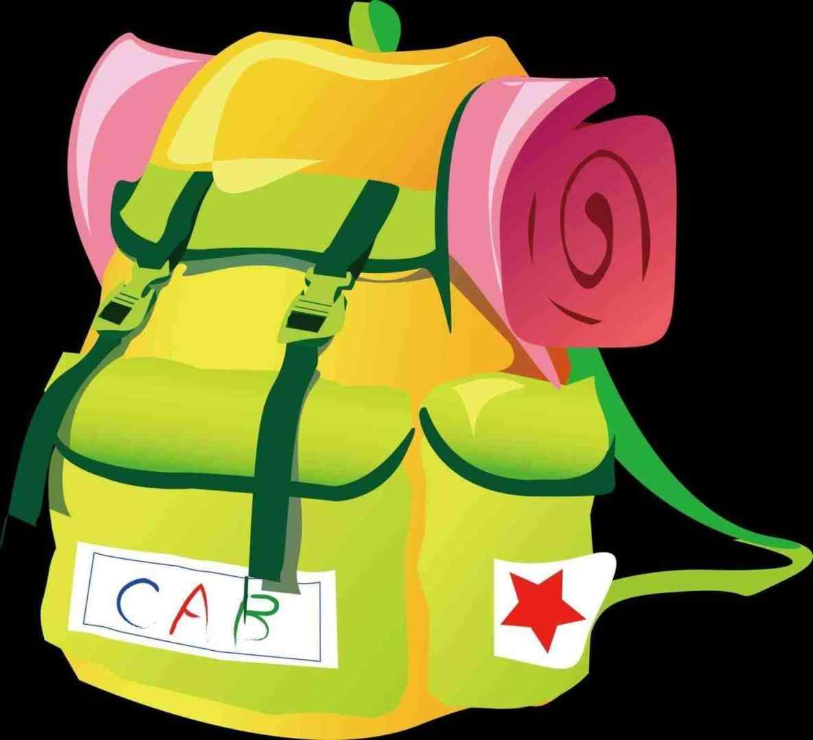 Bag clipart camp. Camping tentco win art