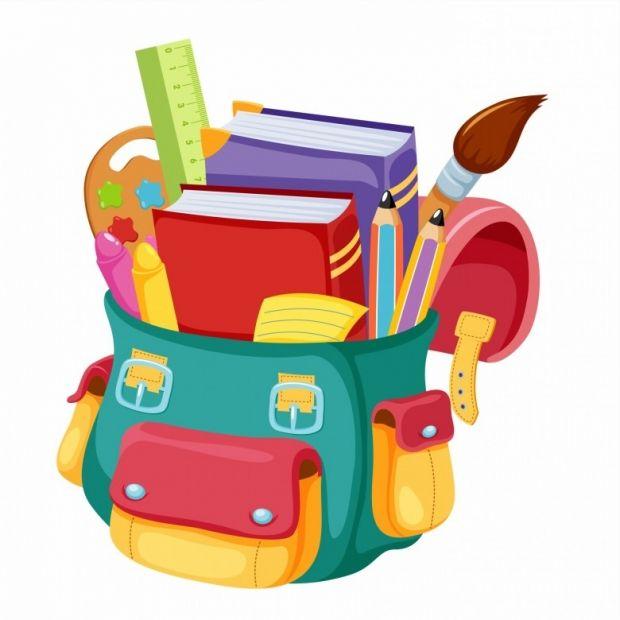 school bags els. Bag clipart cartoon