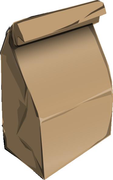 Paperbag clip art at. Bag clipart cartoon