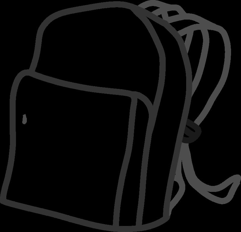 Bag clipart clip art school. Free by kib