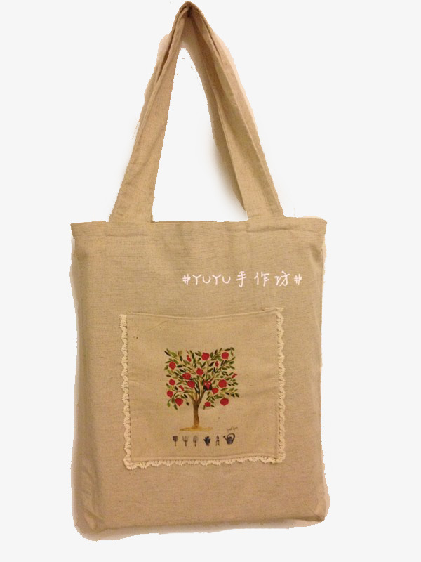 Bag clipart cotton bag. Embroidered hemp embroidery png