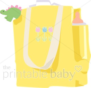 Mommy daddy. Bag clipart diaper bag