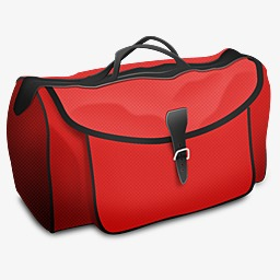 Bag clipart duffel bag. Red luggage cartoon png