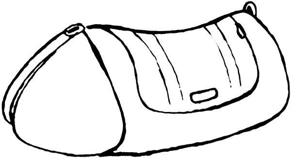 Bag clipart duffel bag. A perfect world clip