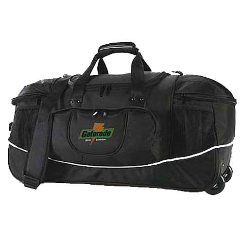 Bag clipart duffle bag. Promotional deluxe travel duffels