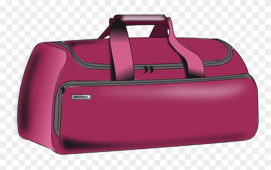 Bag clipart duffle bag. Baggage clip art png