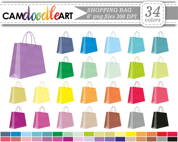 Bag clipart file. Shopping handbag gift scrapbooking