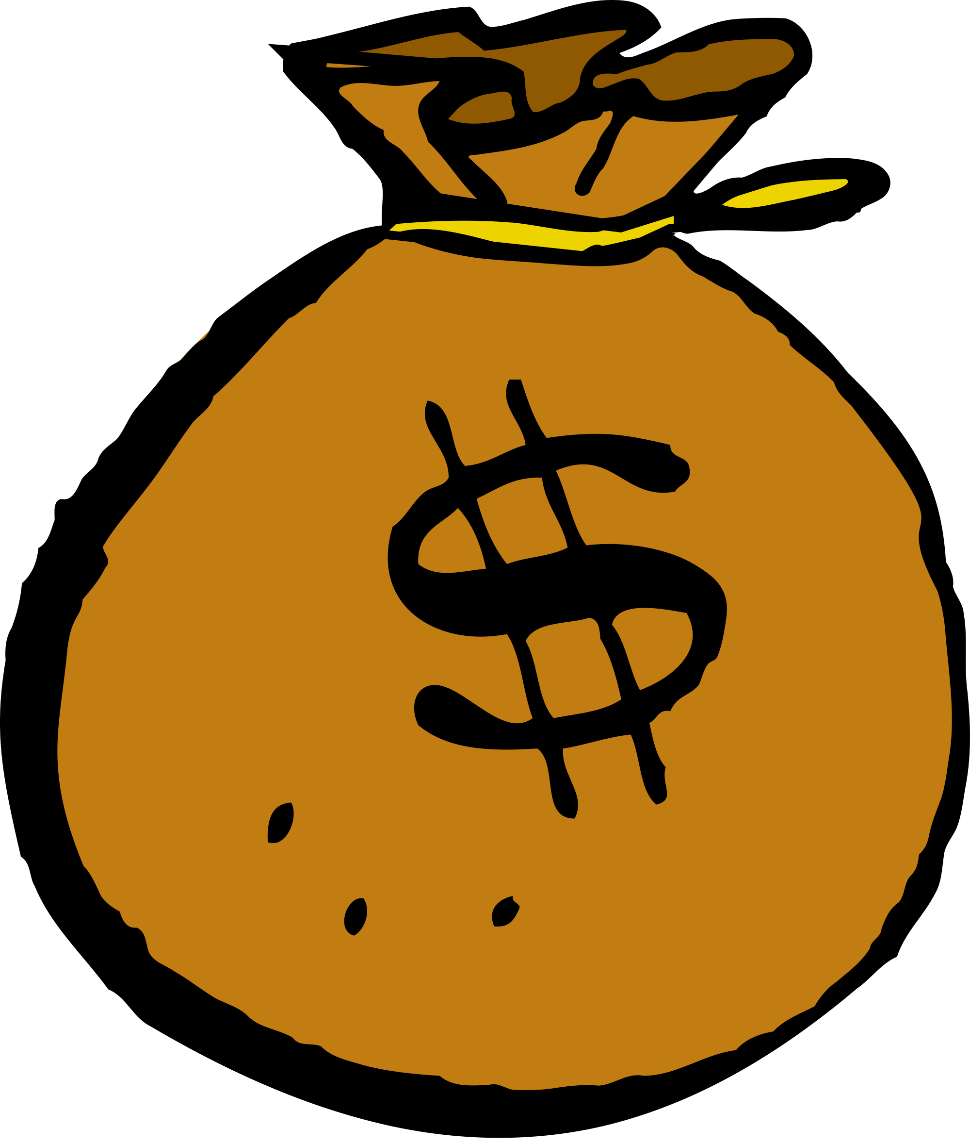 Mcol money svg wikimedia. Bag clipart file