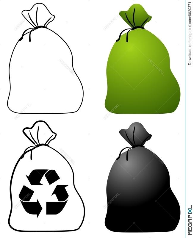 Bags illustration megapixl. Bag clipart garbage