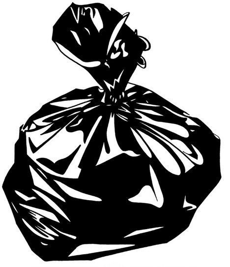 . Bag clipart garbage