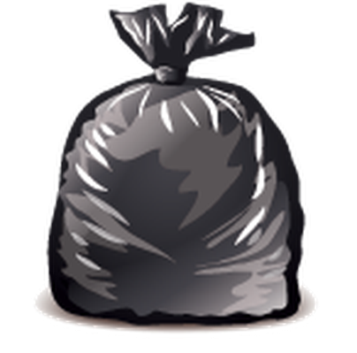 Bag clipart garbage. Icons detailed social studies