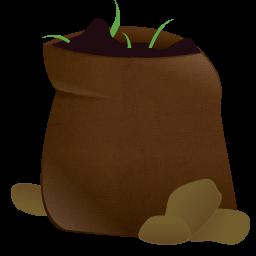 Free cliparts garden download. Dirt clipart soil bag