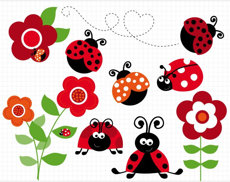 The reward for a. Ladybugs clipart family
