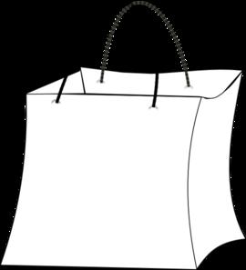 Outline clip art at. Bag clipart gift