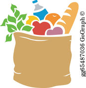 Bag clipart grocery. Clip art royalty free