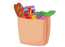 Bag clipart grocery. Search results for hiker