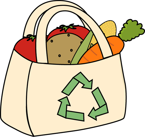 My . Bag clipart grocery