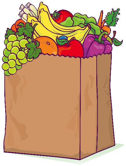Free download clip art. Bag clipart grocery