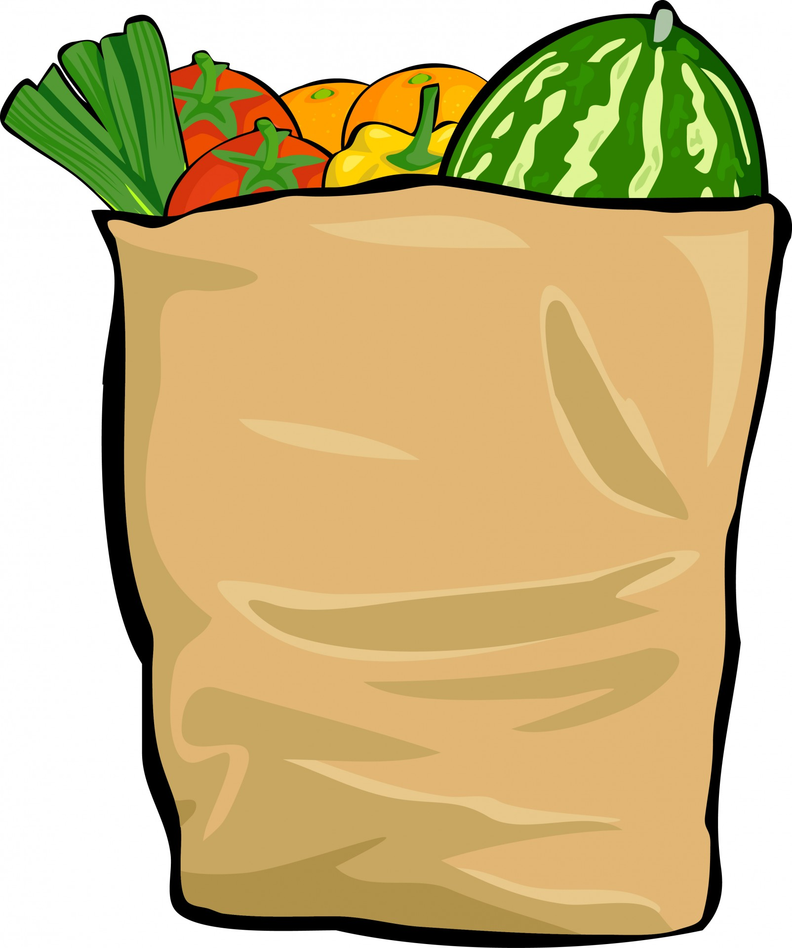 Bag clipart grocery. Free stock photo public