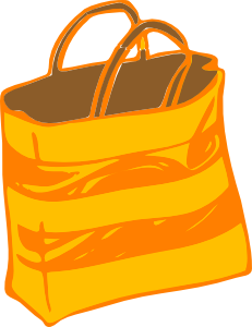 Bag clipart handbag. Purse clip art at