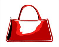 Free bags and purses. Bag clipart handbag
