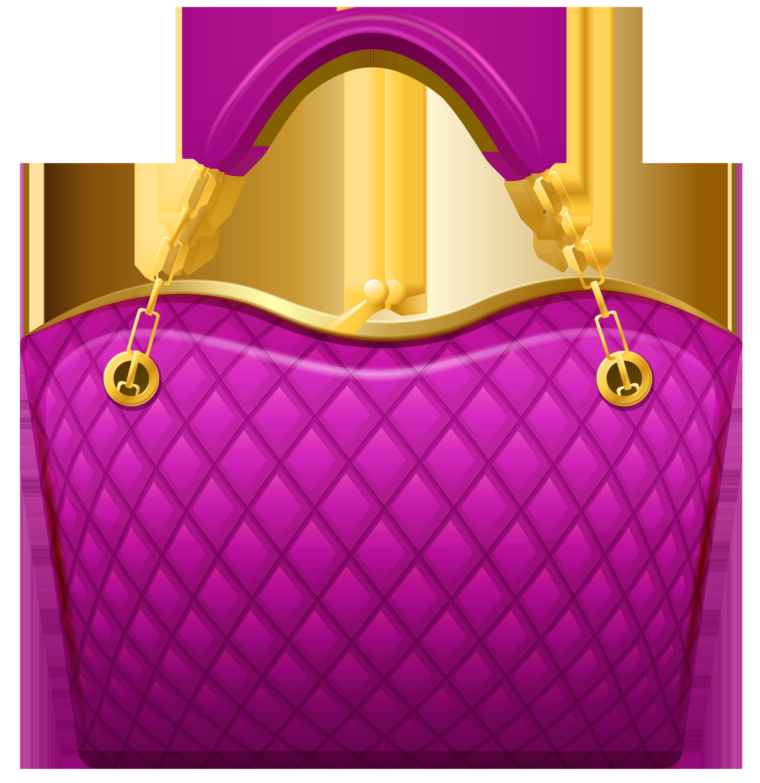 Pink png clip art. Bag clipart handbag