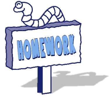 Free public domain clip. Bag clipart homework