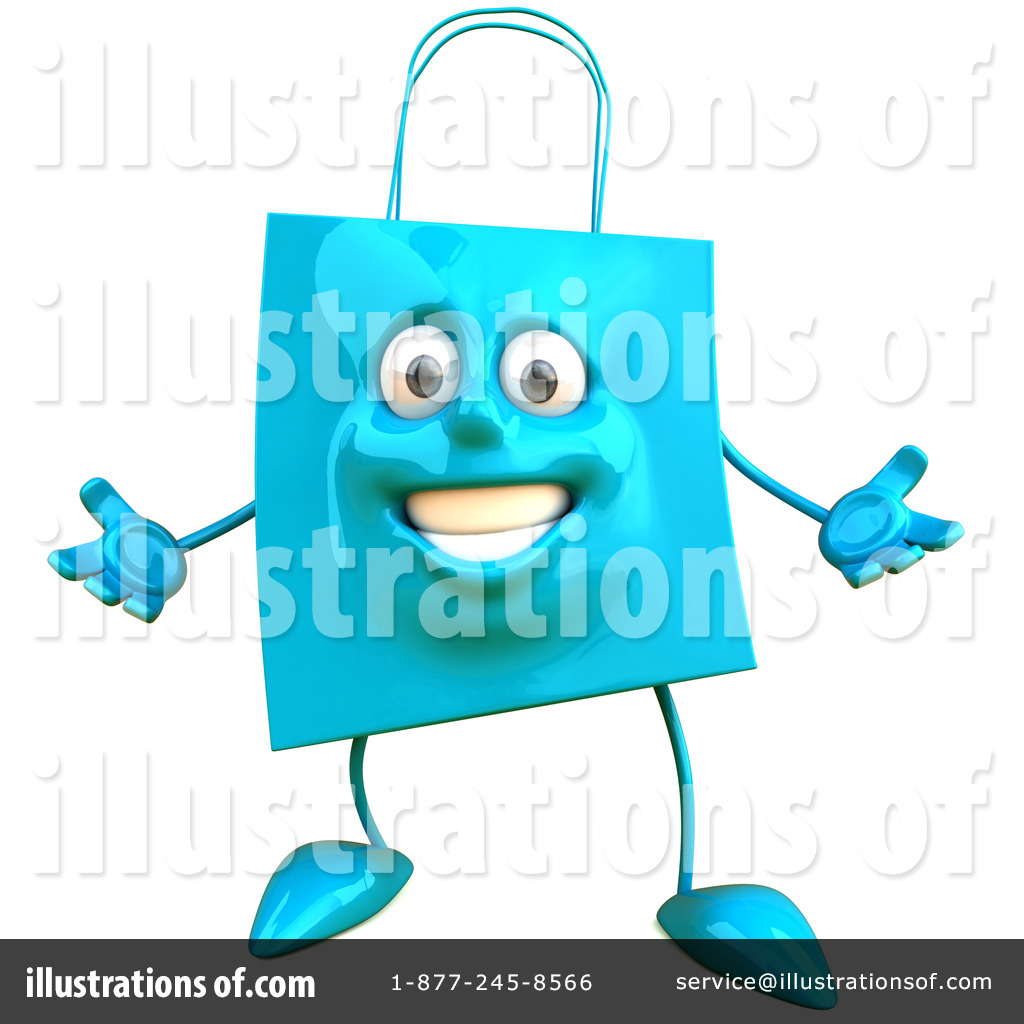 Bag clipart illustration. Shopping by julos royaltyfree