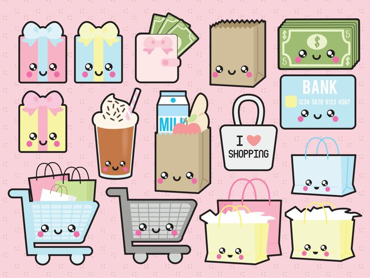 Bag clipart kawaii.  best images on