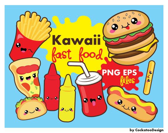 Bag clipart kawaii.  off fast food