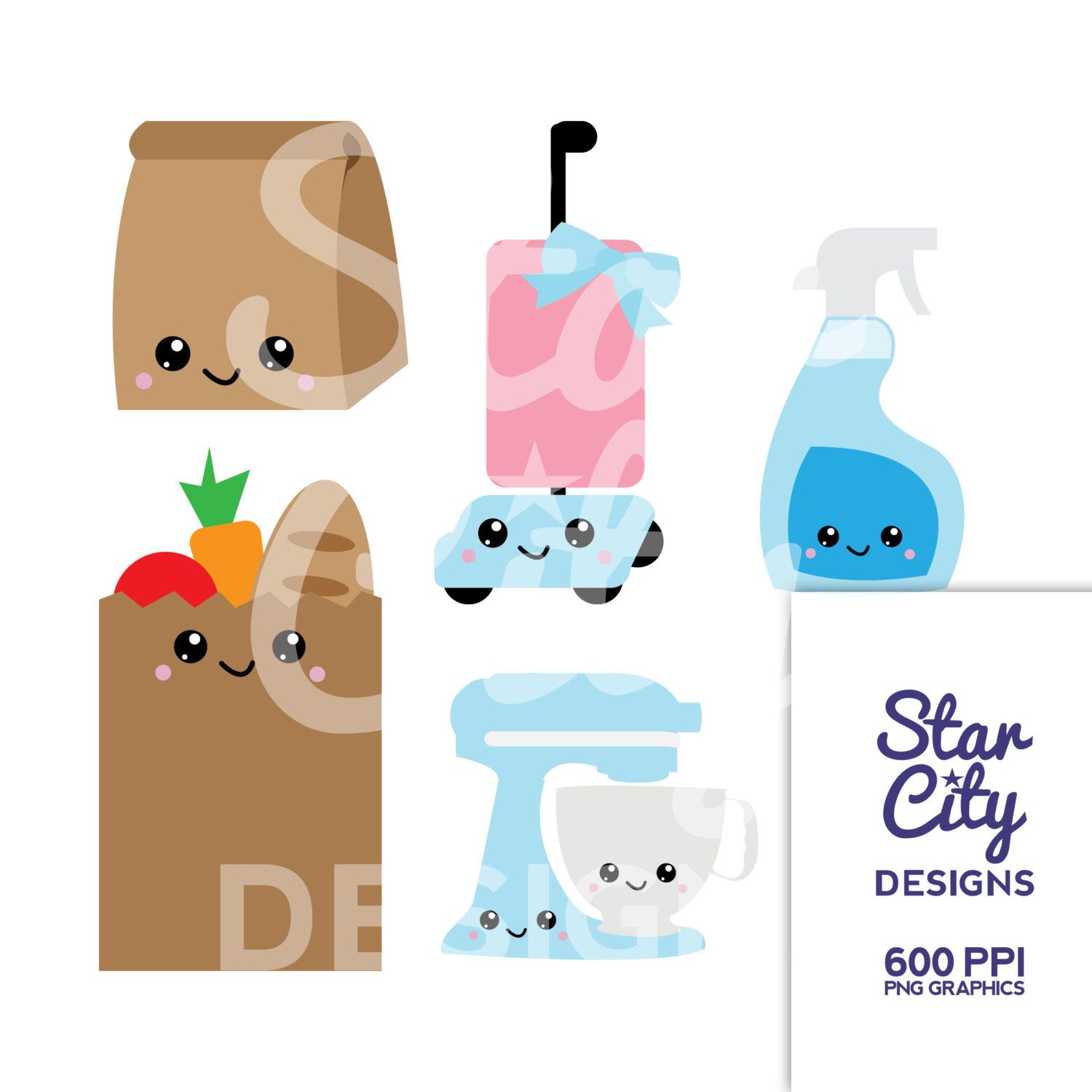 Bag clipart kawaii. Lunch vacuum glass cleaner
