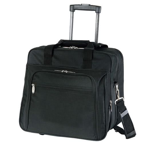 Bag clipart laptop bag. Promotional wheeled briefcases with