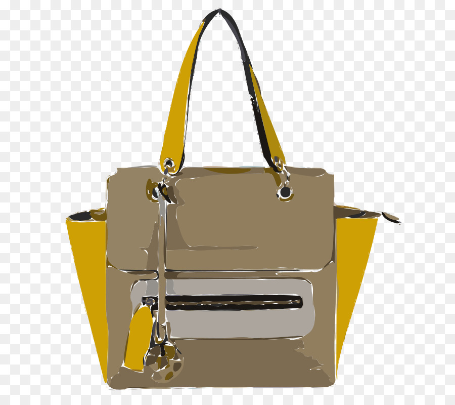 Bag clipart leather bag. Handbag tote clothing accessories