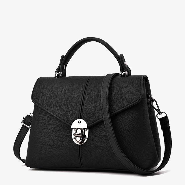 Bag clipart leather bag. Fine bags ladies black