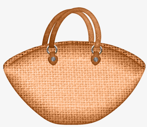Bag clipart leather bag. A weave material png