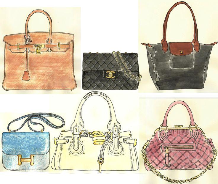 Bag clipart leather bag.  best bags illustrations