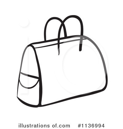 Illustration by graphics rf. Bag clipart line art