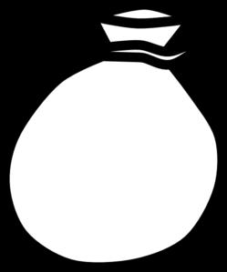 Bag clipart line art. Clip vector panda free