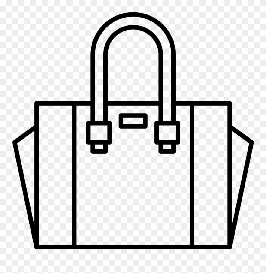 Hand svg png icon. Bag clipart outline